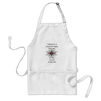 7 Words For A Long Marriage Standard Apron