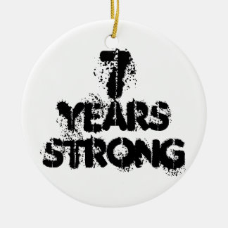 7 Years Strong Recovery Ornament