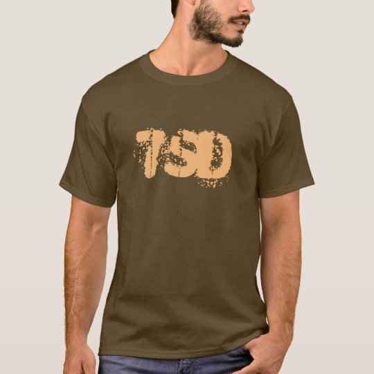 7SD Basic Logo in Brown T-Shirt