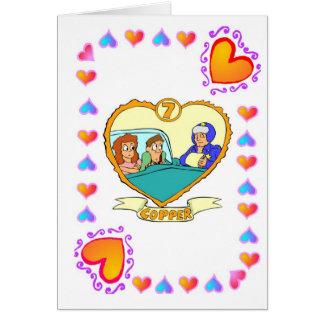 7th Anniversary - Copper Card