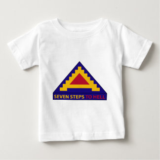 7th Army - Seven Steps To Hell Baby T-Shirt