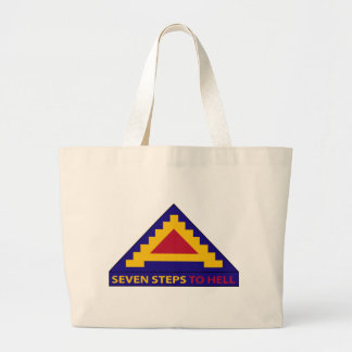 7th Army - Seven Steps To Hell Jumbo Tote Bag
