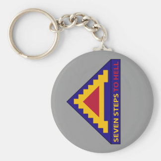 7th Army - Seven Steps To Hell - Key Chain