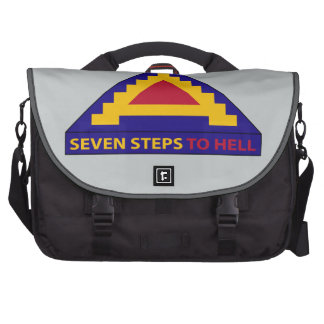 7th Army - Seven Steps To Hell Laptop Computer Bag