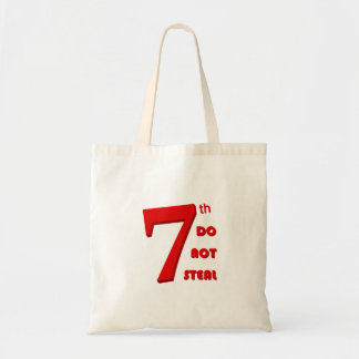 7th budget tote bag
