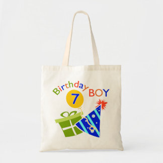 7th Birthday - Birthday Boy Canvas Bag