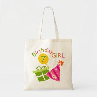 7th Birthday - Birthday Girl Bags