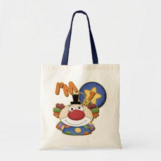 7th Birthday Clown Birthday Bag