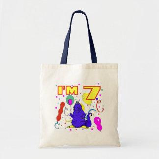 7th Birthday Dinosaur Birthday Bag