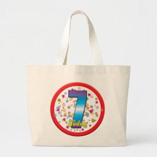 7th Birthday Today v2 Tote Bag