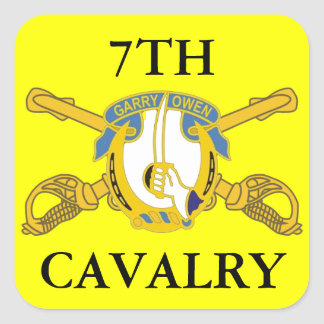 7TH CAVALRY STICKERS