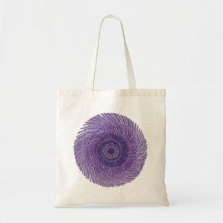 7th Chakra Art - #3 Budget Tote Bag