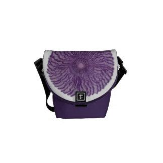 7th Chakra Healing Art - 2 Messenger Bag
