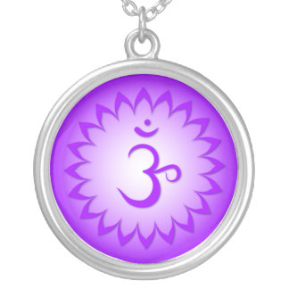 7th Chakra - Sahasrara Silver Plated Necklace