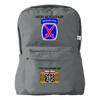 7TH ENGINEER BN 10TH MOUNTAIN BACKPACK
