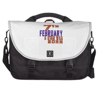 7th February a star was born Computer Bag