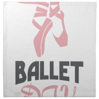 7th February - Ballet Day - Appreciation Day Napkin
