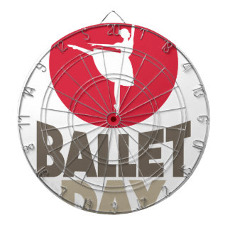 7th February - Ballet Day Dartboard With Darts