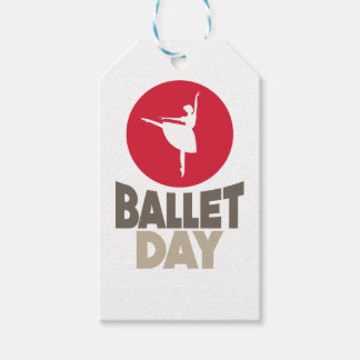 7th February - Ballet Day Gift Tags