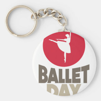7th February - Ballet Day Keychain