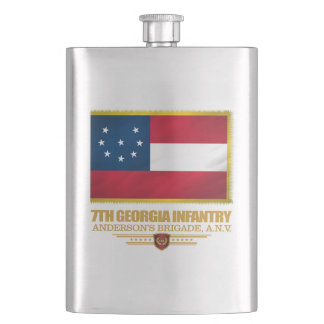 7th Georgia Infantry (1) Hip Flask