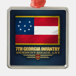 7th Georgia Infantry (1) Metal Ornament
