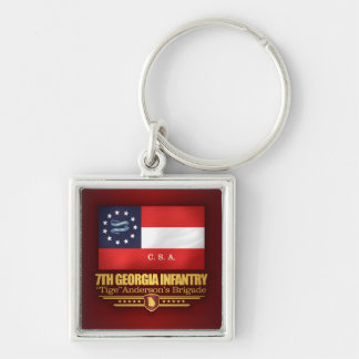 7th Georgia Infantry (2) Keychain