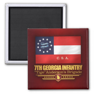 7th Georgia Infantry (2) Magnet