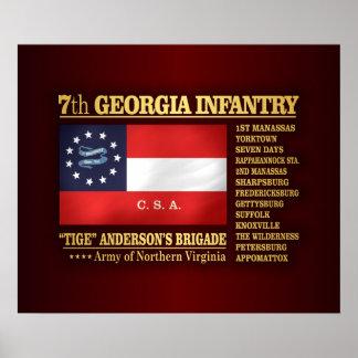 7th Georgia Infantry (BA2) Poster
