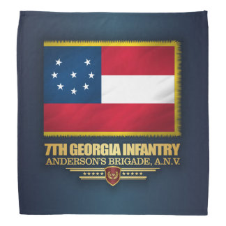 7th Georgia Infantry Bandana