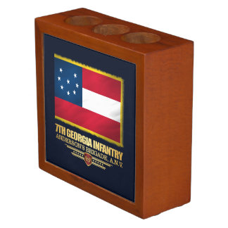 7th Georgia Infantry Desk Organizer