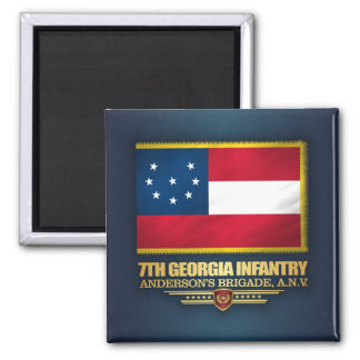 7th Georgia Infantry Magnet