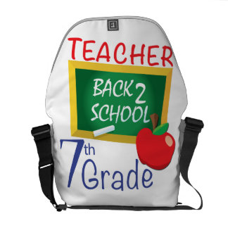 7th Grade Teacher Messenger Bag