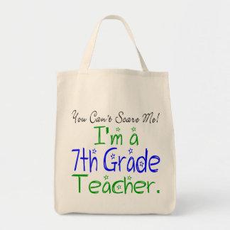 7th Grade Teacher Tote Canvas Bags