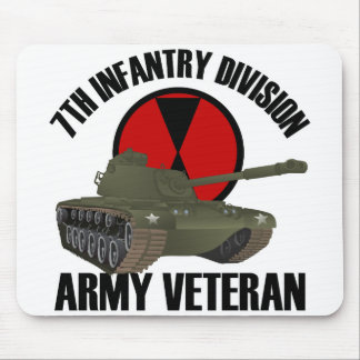 7th ID with M-48 Tank Mousepads