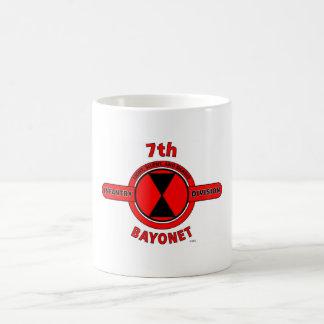 "7TH INFANTRY DIVISION ""BAYONET DIVISION"" COFFEE MUG"