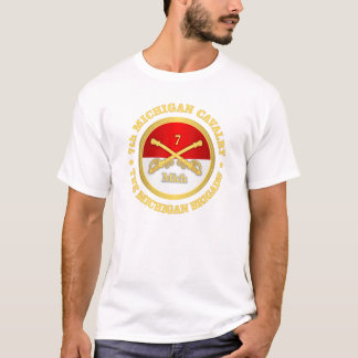 7th Michigan Cavalry (rd) T-Shirt