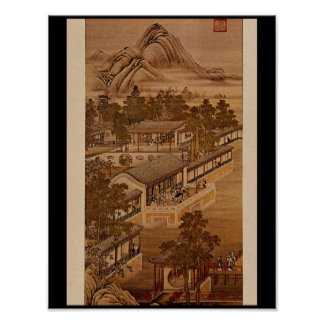 7th Month', Tang-Tai and Ting_The Orient Poster