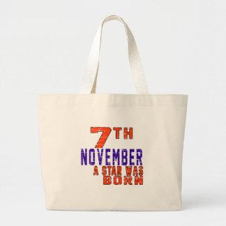 7th November a star was born Bag