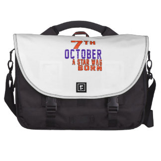 7th October a star was born Bags For Laptop