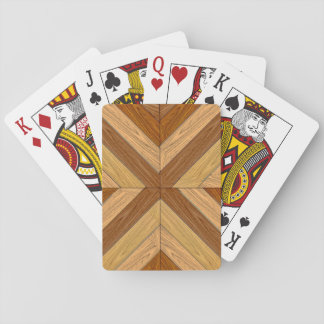 7th Pattern; New Parquet Floor Playing Cards