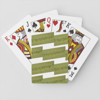 7th Quote; I don't sell products; I sell what's on Poker Deck