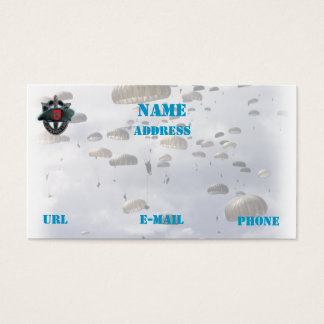 7th special forces group vets iraq  business Card