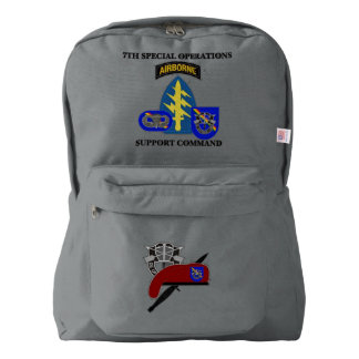 7TH SPECIAL OPERATIONS SUPPORT COMMAND BACKPACK