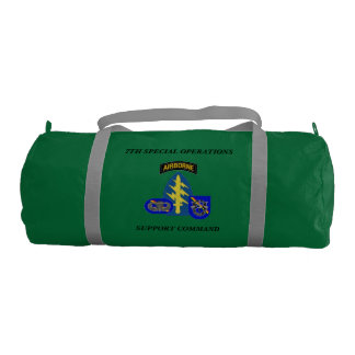7TH SPECIAL OPERATIONS SUPPORT COMMAND GYM BAG