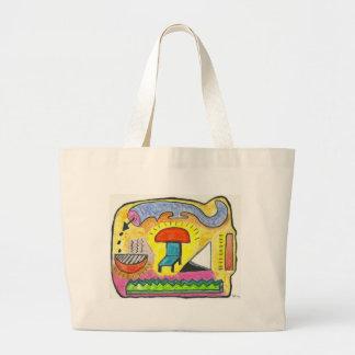 7th SubQuantum Heaven Jumbo Tote Bag