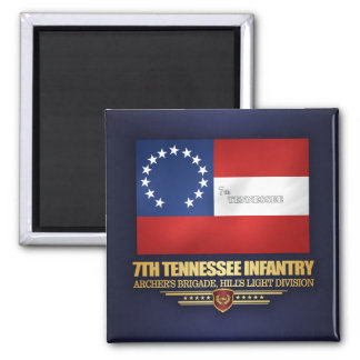 7th Tennessee Infantry Magnet