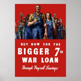 7th War Loan - World War II Poster