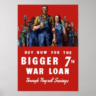 7th War Loan -- WW2 Poster