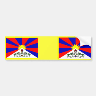 800px-Flag_of_Tibet_svg, 800px-Flag_of_Tibet_svg Bumper Sticker